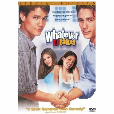 Whatever It Takes (DVD, 2000, Closed Captioned) Teen Comedy Free Shipping