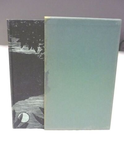 VTG 1967 OMOO HERMAN MELVILLE HC WITH SLIPCASE REYNOLDS STONE ENGRAVINGS