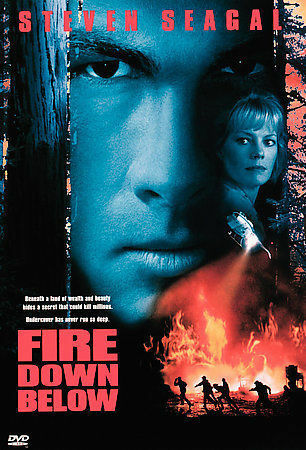 Genuine Factory Sealed Fire Down Below DVD! Free Shipping and Tracking!