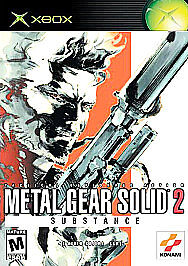 Metal Gear Solid 2: Substance, Good Xbox, Xbox Video Games