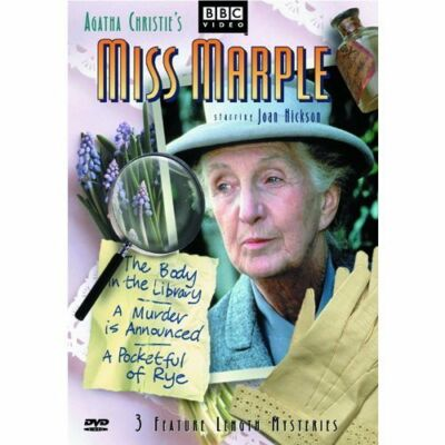 Miss Marple - 3 Feature Length Mysteries (The Body in the Library / A Murder Is