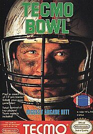 Tecmo Bowl for the Nintendo Entertainment System (NES)