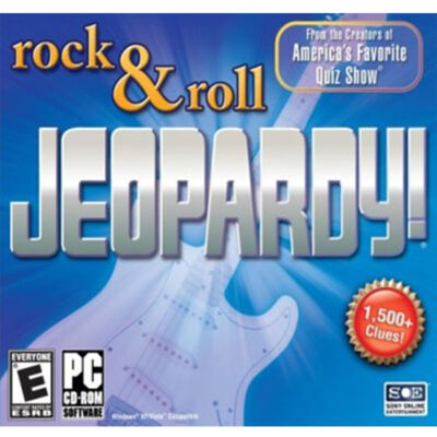 JEOPARDY! ROCK & ROLL Edition Quiz Show PC Game NEW!