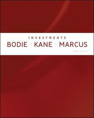 Investments 8th Edition, Marcus, Alan, Kane, Alex, Bodie, Zvi, Excellent Book