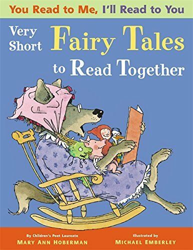 YOU READ TO ME I'LL READ TO YOU Very Short  Fairy Tales MARY ANN HOBERMAN NEW