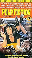Pulp Fiction (VHS, 1996, Special Collector's Edition)