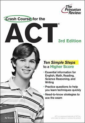 Crash Course for the Act 3rd Edition (Paperback)