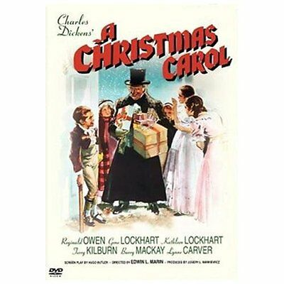 A CHRISTMAS CAROL  (1938) DVD *BRAND NEW AND SEALED*
