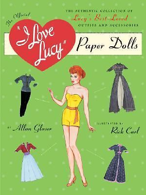 I Love Lucy Paper Doll, Carl, Ric, Glaser, Alan, Books