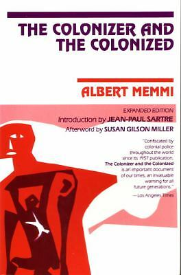 The Colonizer and the Colonized, Memmi, Albert, Very Good Book