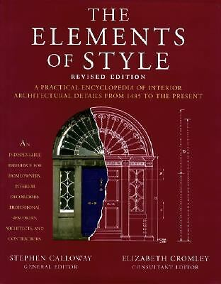 The Elements of Style: A Practical Encyclopedia of Interior Architectural Detail