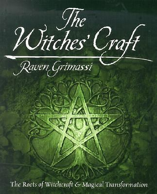 Witches' Craft/ Roots of Witchcraft / Magical Transformation/ Grimassi   Signed