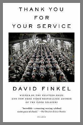 Thank You for Your Service, Finkel, David, Very Good Book