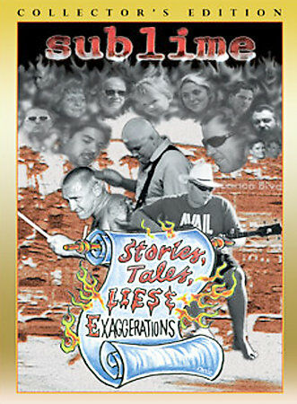 Sublime: Stories, Tales, Lies, & Exaggerations, DVD, Bradley Nowell, Bud Gaugh,