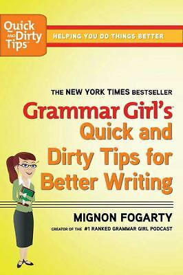 Grammar Girl's Quick and Dirty Tips for Better Writing (Quick & Dirty Tips), Fog