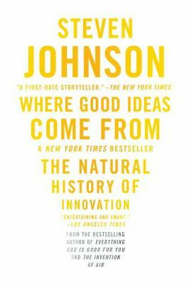 Where Good Ideas Come From, Johnson, Steven, Very Good Book