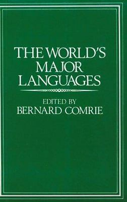 The World's Major Languages,