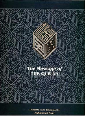 The Message of The Qur'an, Asad, Muhammad, Good Book