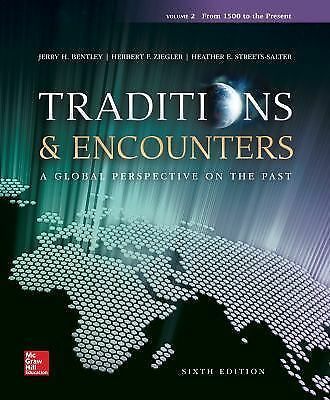Traditions & Encounters Volume 2 from 1500 to the Present, Ziegler, Herbert,
