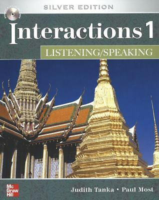 INTERACTIONS LISTENING/SPEAKING 1 Class AUDIO CD: Silver Edition, Most, Paul, Ta