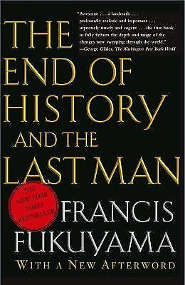 The End of History and the Last Man, Fukuyama, Francis, Very Good Book