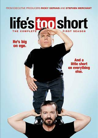 Life's Too Short The Complete First Season 1 DVD Set Sealed NEW