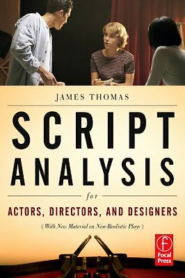 Script Analysis for Actors, Directors, and Designers, Thomas, James, Acceptable