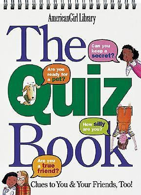 The Quiz Book : Clues to You and Your Friends, Too! by Laura Allen (1999,...