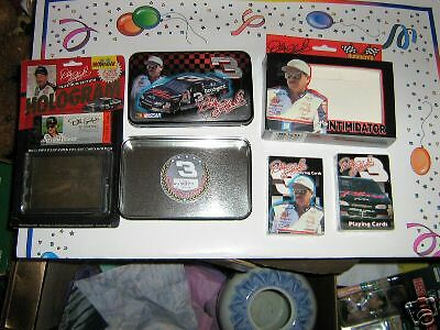 DALE EARNHARDT SR HOLOGRAM CARD & SET OF PLAYING CARDS NEVER USED STILL IN PACK