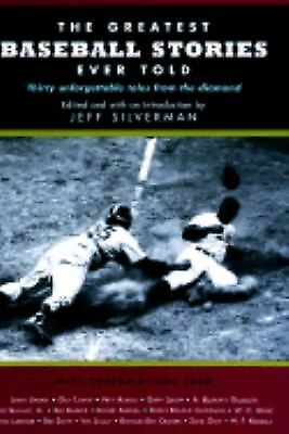 The Greatest Baseball Stories Ever Told, , Books