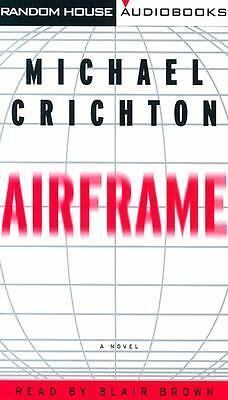 AIRFRAME by Michael Crichton 1996 Audio Cassette Book Tapes