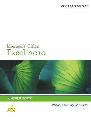 New Perspectives on Microsoft Excel 2010: Comprehensive (Advanced Spreadsheet Ap