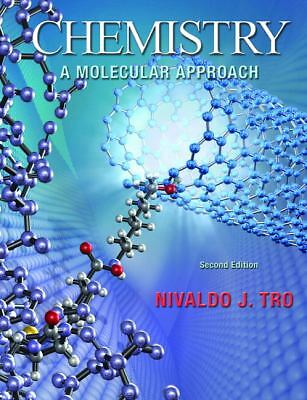 Chemistry: A Molecular Approach, Tro, Good Book