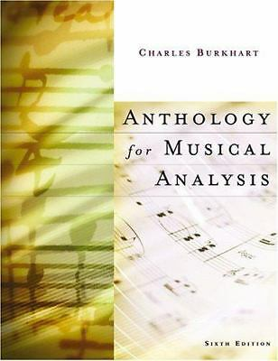 Anthology for Musical Analysis, Charles Burkhart, Good Book
