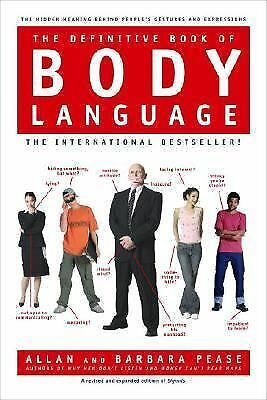 The Definitive Book of Body Language, Barbara Pease, Allan Pease, Very Good Book