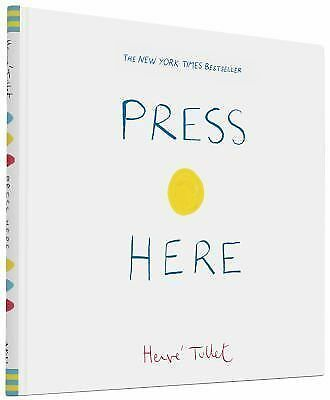 Press Here, Tullet, Herve, Books