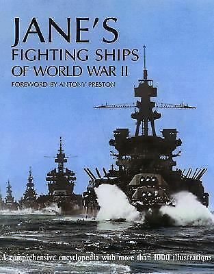 Jane's Fighting Ships of World War II, , Very Good Book