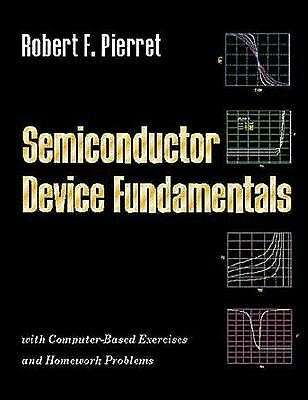 Semiconductor Device Fundamentals, Pierret, Robert F., Acceptable Book