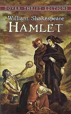 HAMLET William Shakespeare by DOVER Thrift Edition 1992 paperback ~ FREE ship!