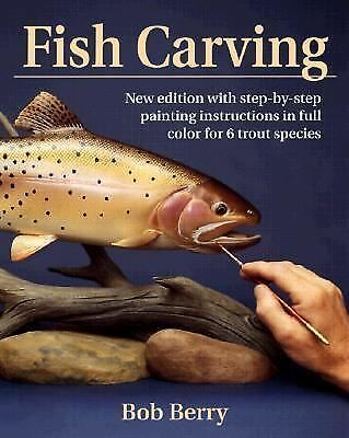 Fish Carving: An Introduction, Bob Berry, Books