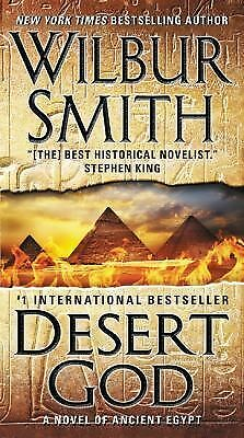 Desert God: A Novel of Ancient Egypt, Smith, Wilbur, Excellent Book