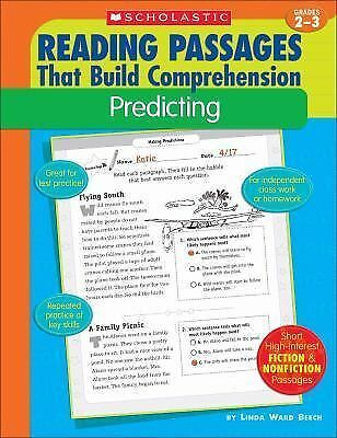 Predicting (Reading Passages That Build Comprehensio) by Beech, Linda Ward
