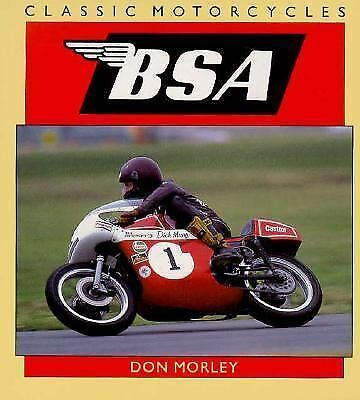 Bsa (Classic Motorcycles), Don Morley, Books