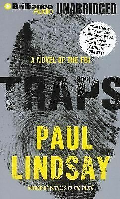 Traps: A Novel of the FBI, Lindsay, Paul, Good Book
