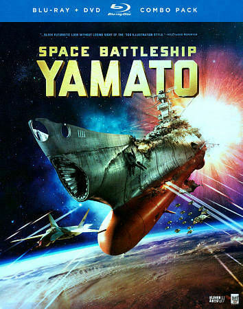 Space Battleship Yamato (Blu-ray Disc, 2014, 2-Disc Set) New Sealed