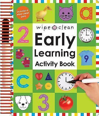 Wipe Clean Early Learning Activity Book by Roger Priddy