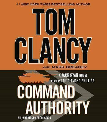 Command Authority (Jack Ryan), Greaney, Mark, Clancy, Tom, Very Good Book