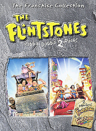 The Flintstones Yabba-Dabba Pack (The Flintstones/Viva Rock Vegas), DVD, John Go