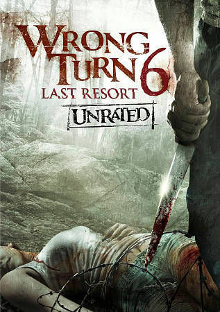 Wrong Turn 6 DVD, 2014, Unrated