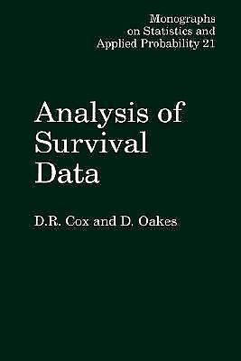 Analysis of Survival Data (Chapman & Hall/CRC Monographs on Statistics & Applied